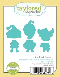 Taylored Expressions - Cutting Die - Santa & Friends