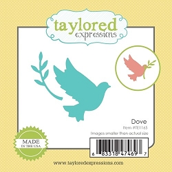 Taylored Expressions - Cutting Die - Little Bits Dove