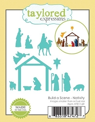 Taylored Expressions - Cutting Die - Build a Scene Nativity