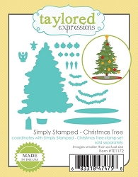 Taylored Expressions - Cutting Die - Simply Stamped Christmas Tree