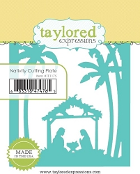 Taylored Expressions - Cutting Die - Nativy Cutting Plate