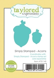 Taylored Expressions - Cutting Die - Simply Stamped Acorns