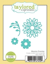 Taylored Expressions - Cutting Die - Blooms Overlay