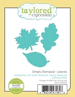 Taylored Expressions - Cutting Die - Simply Stamped Leaves