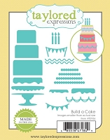 Taylored Expressions - Cutting Die - Build A Cake