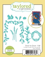 Taylored Expressions - Cutting Die - Door to Door Fall Decor