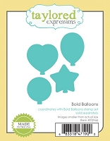 Taylored Expressions - Cutting Die - Bold Balloons