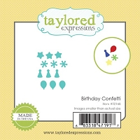 Taylored Expressions - Cutting Die - Little Bits Birthday Confetti
