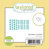 Taylored Expressions - Cutting Die - Little Bits Sprinkles Confetti