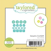 Taylored Expressions - Cutting Die - Little Bits Sequins Confetti