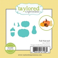 Taylored Expressions - Cutting Die - Little Bits Fall Harvest