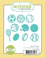 Taylored Expressions - Cutting Die - Sports Balls