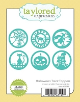 Taylored Expressions - Cutting Die - Halloween Treat Toppers