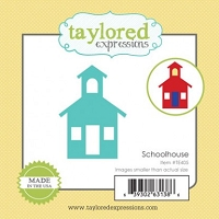 Taylored Expressions - Cutting Die - Little Bits Schoolhouse