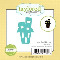 Taylored Expressions - Cutting Die - Little Bits Haunted House