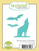Taylored Expressions - Cutting Die - Spooky Trees Accessories