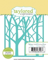 Taylored Expressions - Cutting Die - Spooky Trees Cutting Plate