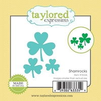Taylored Expressions - Cutting Die - Little Bits Shamrocks
