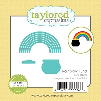Taylored Expressions - Cutting Die - Little Bits Rainbow's End