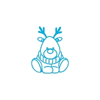 Tonic Studios - Cutting Die - Rococo Petite Baby Rudolph