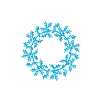 Tonic Studios - Cutting Die - Rococo Holly Bouquet Wreath