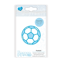 Tonic Studios - Cutting Die - Rococo Petite Football (Soccer ball) die