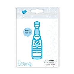 Tonic Studios - Cutting Die - Rococo Celebrations Champagne Bottle Die