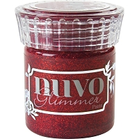 Tonic Studios - Nuvo Glimmer Paste - Garnet Red