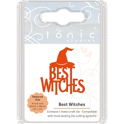 Tonic Studios - Cutting Die - Miniature Moments Best Witches
