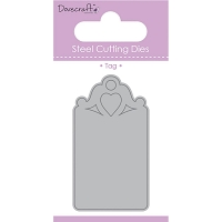 Trimcraft/Dovecraft - Cutting die - Heart Tag