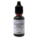 Tsukineko Staz-On Ink Refill - Black Cherry