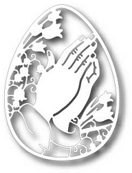 Tutti Designs - Cutting Die - Praying Hands Egg