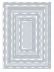 Tutti Designs - Cutting Die - Nesting Dotted Rectangles