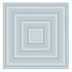 Tutti Designs - Cutting Die - Nesting Dotted Squares