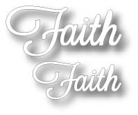 Tutti Designs - Cutting Die - Word Set - Faith