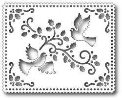 Tutti Designs - Cutting Die - Holiday Dove Tapestry