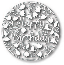 Tutti Designs - Cutting Die - Happy Birthday Circle