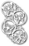 Tutti Designs - Cutting Die - Swirly Butterfly Circles