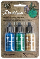 Ranger - 2 new Vintaj Patina ink kits