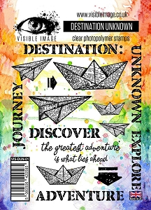 Visible Image - Clear Stamp - Destination Unknown