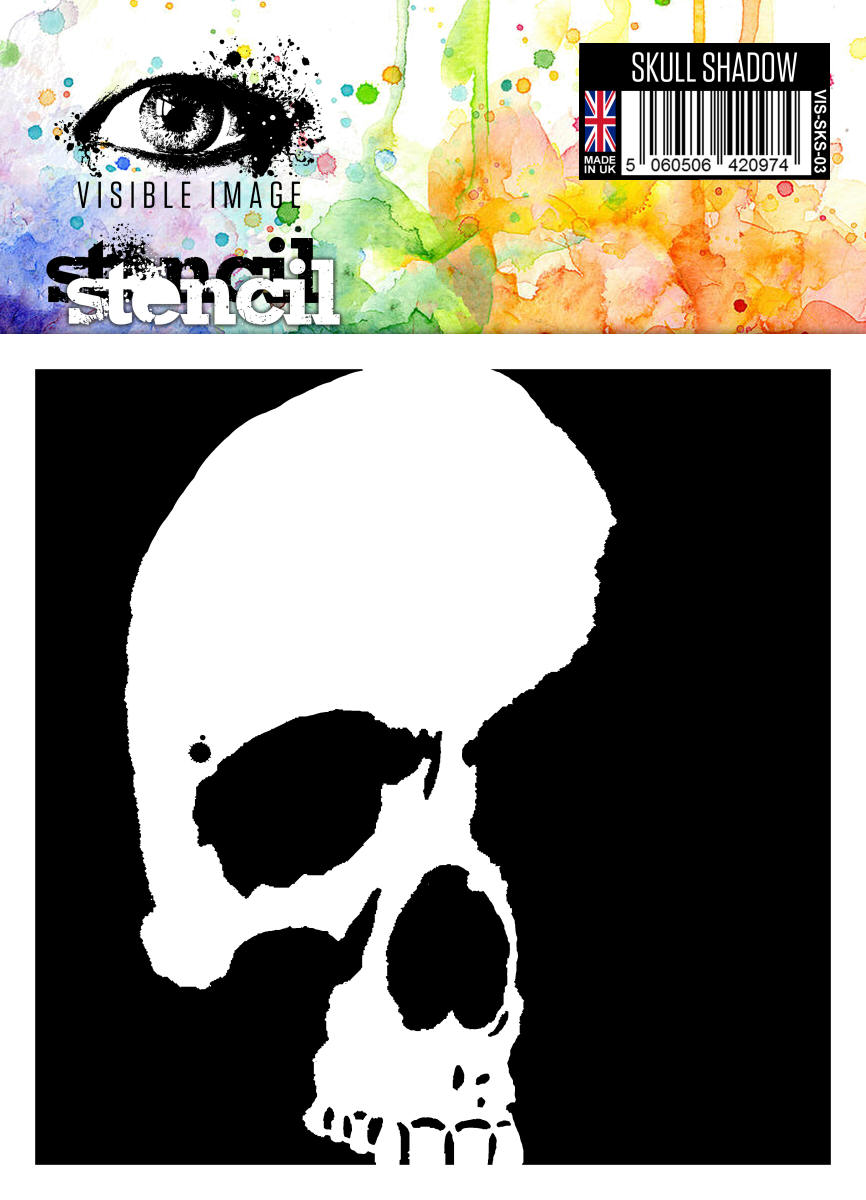 Visible image 6x6 stencil skull shadow jeuxipadfo Image collections