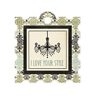 We-R-Memory Keepers - Antique Chic - Style - Embossed Tag