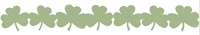 Lifestyle Crafts/We R Memory Keepers - Cutting dies - Shamrock