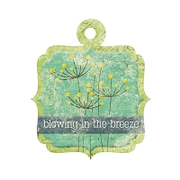 We R Memory - Good Day Sunshine - Embossed Tag - Breeze