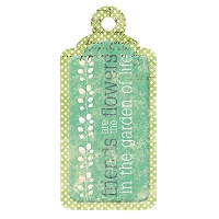 We R Memory - Good Day Sunshine - Embossed Tag - Friends