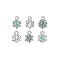 We-R-Memory Keepers - Winter Frost - Snowflake Metal Charms