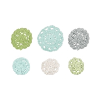 We-R-Memory Keepers - Winter Frost - Crochet Doilies