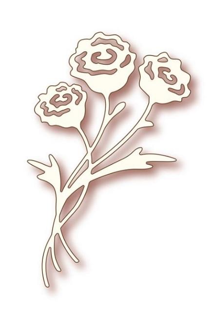 wild rose studio die rose bunch. Black Bedroom Furniture Sets. Home Design Ideas