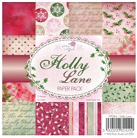 Wild Rose Studio - 2 new 6x6 paper pads for Christmas
