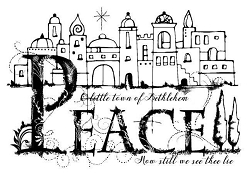 Woodware Craft - Clear Stamp - Bethlehem Palace